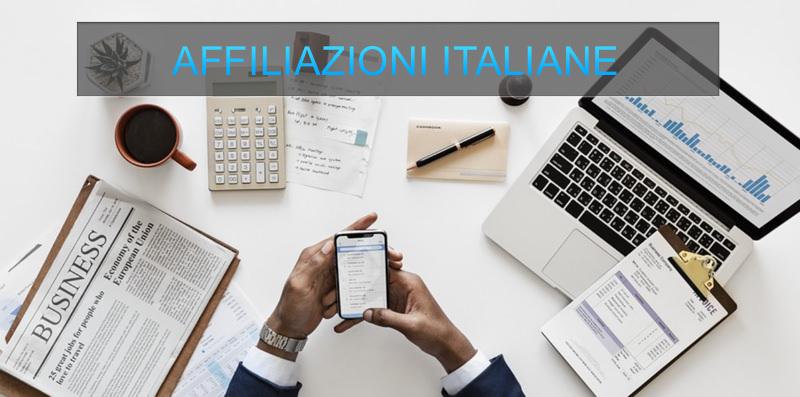affiliazioni italiane